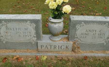 PATRICK, ANDY C. - Boone County, Arkansas | ANDY C. PATRICK - Arkansas Gravestone Photos