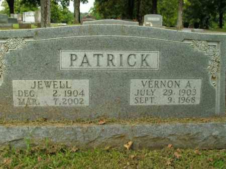 PATRICK, VERNON A. - Boone County, Arkansas | VERNON A. PATRICK - Arkansas Gravestone Photos