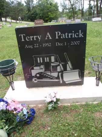 PATRICK, TERRY A. - Boone County, Arkansas | TERRY A. PATRICK - Arkansas Gravestone Photos
