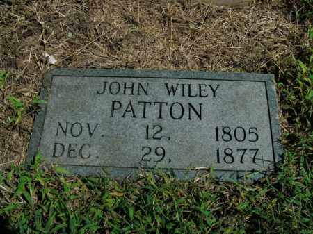 PATTON, JOHN WILEY - Boone County, Arkansas | JOHN WILEY PATTON - Arkansas Gravestone Photos