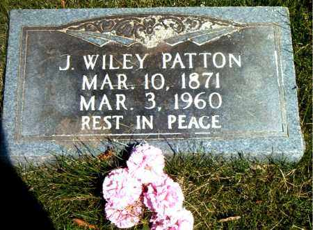 PATTON, J.  WILEY - Boone County, Arkansas | J.  WILEY PATTON - Arkansas Gravestone Photos