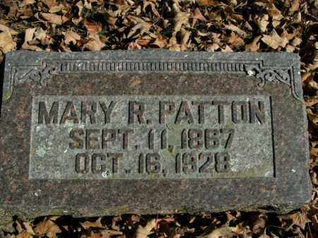 PATTON, MARY R. - Boone County, Arkansas | MARY R. PATTON - Arkansas Gravestone Photos