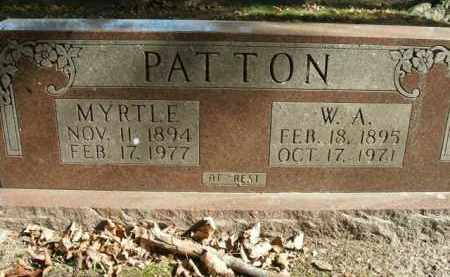 PATTON, W.A. - Boone County, Arkansas | W.A. PATTON - Arkansas Gravestone Photos