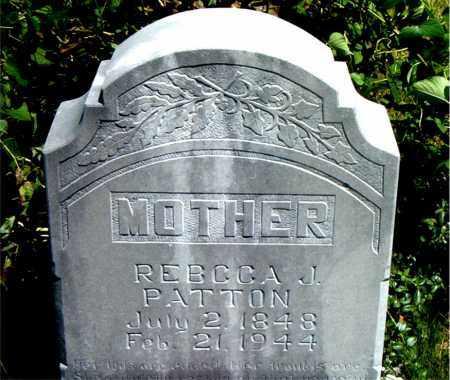 PATTON, REBECCA  JANE - Boone County, Arkansas | REBECCA  JANE PATTON - Arkansas Gravestone Photos