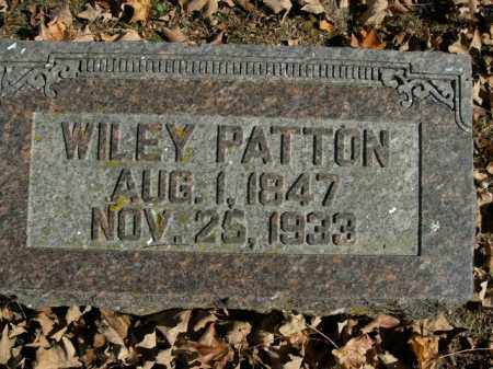 PATTON, WILEY - Boone County, Arkansas | WILEY PATTON - Arkansas Gravestone Photos