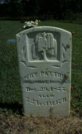 PATTON, WILY - Boone County, Arkansas | WILY PATTON - Arkansas Gravestone Photos