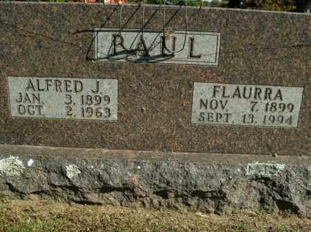 PAUL, FLAURRA - Boone County, Arkansas | FLAURRA PAUL - Arkansas Gravestone Photos