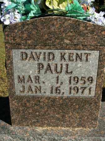 PAUL, DAVID KENT - Boone County, Arkansas | DAVID KENT PAUL - Arkansas Gravestone Photos
