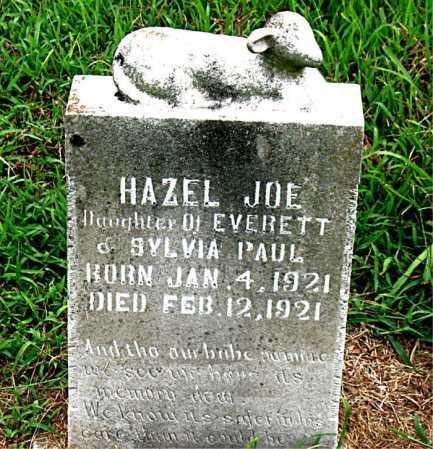 PAUL, HAZEL JOE - Boone County, Arkansas   HAZEL JOE PAUL - Arkansas Gravestone Photos