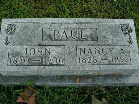 PAUL, JOHN - Boone County, Arkansas | JOHN PAUL - Arkansas Gravestone Photos