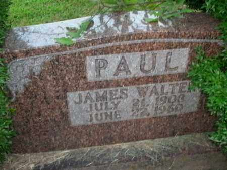 PAUL, JAMES WALTER - Boone County, Arkansas | JAMES WALTER PAUL - Arkansas Gravestone Photos