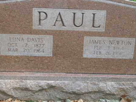 PAUL, JAMES NEWTON - Boone County, Arkansas | JAMES NEWTON PAUL - Arkansas Gravestone Photos