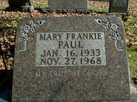 PAUL, MARY FRANKIE - Boone County, Arkansas | MARY FRANKIE PAUL - Arkansas Gravestone Photos