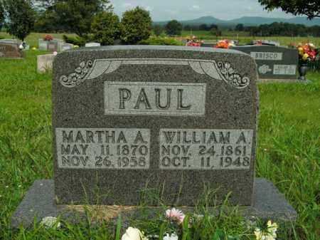 PAUL, MARTHA A. - Boone County, Arkansas | MARTHA A. PAUL - Arkansas Gravestone Photos
