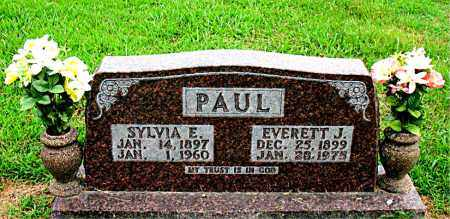 PAUL, EVERETT J - Boone County, Arkansas | EVERETT J PAUL - Arkansas Gravestone Photos