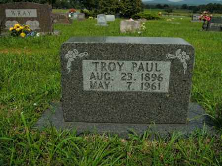 PAUL, TROY - Boone County, Arkansas | TROY PAUL - Arkansas Gravestone Photos