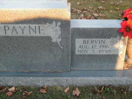 PAYNE, BERVIN - Boone County, Arkansas | BERVIN PAYNE - Arkansas Gravestone Photos