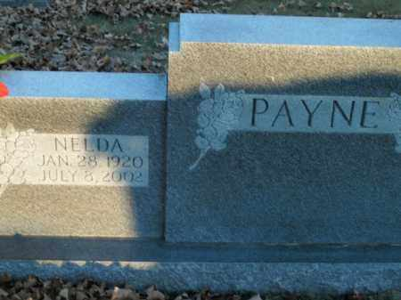 PAYNE, NELDA - Boone County, Arkansas | NELDA PAYNE - Arkansas Gravestone Photos