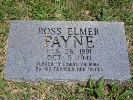 PAYNE, ROSS ELMER - Boone County, Arkansas | ROSS ELMER PAYNE - Arkansas Gravestone Photos