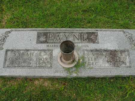 PAYNE, VIRGIL C. - Boone County, Arkansas | VIRGIL C. PAYNE - Arkansas Gravestone Photos