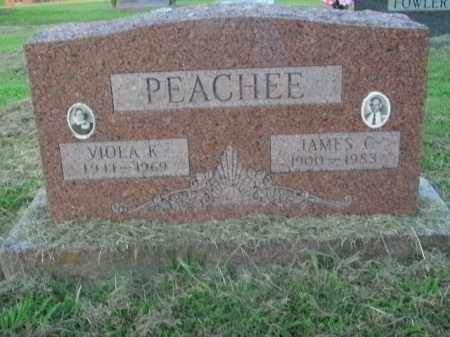PEACHEE, VIOLA K. - Boone County, Arkansas | VIOLA K. PEACHEE - Arkansas Gravestone Photos