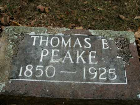 PEAKE, THOMAS B. - Boone County, Arkansas | THOMAS B. PEAKE - Arkansas Gravestone Photos