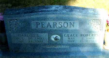 PEARSON, CARLOS L. - Boone County, Arkansas | CARLOS L. PEARSON - Arkansas Gravestone Photos