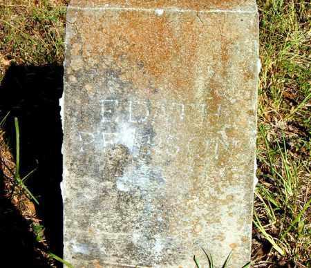 PEARSON, EDATH - Boone County, Arkansas | EDATH PEARSON - Arkansas Gravestone Photos