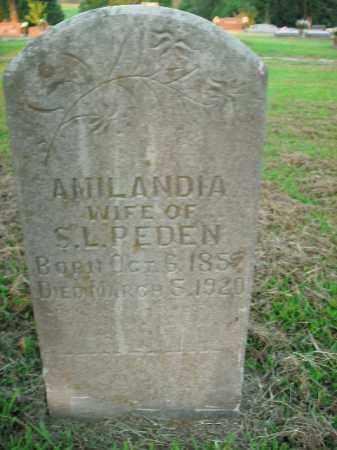 PEDEN, AMILANDIA - Boone County, Arkansas | AMILANDIA PEDEN - Arkansas Gravestone Photos
