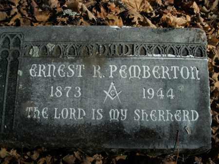 PEMBERTON, ERNEST R. - Boone County, Arkansas | ERNEST R. PEMBERTON - Arkansas Gravestone Photos
