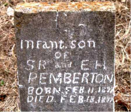 PEMBERTON, INFANT SON - Boone County, Arkansas | INFANT SON PEMBERTON - Arkansas Gravestone Photos