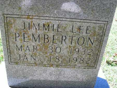 PEMBERTON, JIMMIE LEE - Boone County, Arkansas | JIMMIE LEE PEMBERTON - Arkansas Gravestone Photos