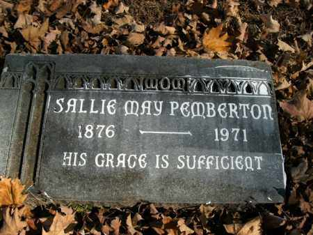 PEMBERTON, SALLIE MAY - Boone County, Arkansas | SALLIE MAY PEMBERTON - Arkansas Gravestone Photos