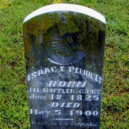 PENDLEY, ISAAC  E. - Boone County, Arkansas | ISAAC  E. PENDLEY - Arkansas Gravestone Photos