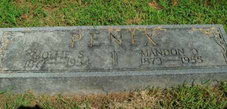 PENIX, MANDON O. - Boone County, Arkansas | MANDON O. PENIX - Arkansas Gravestone Photos
