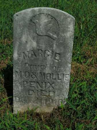 PENIX, MARGIE - Boone County, Arkansas   MARGIE PENIX - Arkansas Gravestone Photos