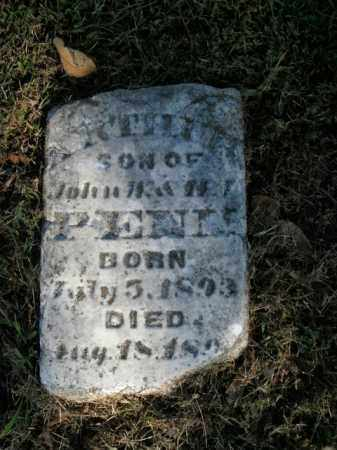 PENN, ARTHUR - Boone County, Arkansas | ARTHUR PENN - Arkansas Gravestone Photos