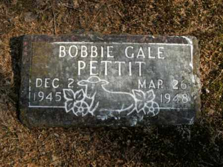 PETTIT, BOBBIE GALE - Boone County, Arkansas | BOBBIE GALE PETTIT - Arkansas Gravestone Photos