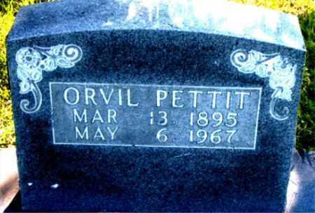 PETTIT, ORVIL - Boone County, Arkansas | ORVIL PETTIT - Arkansas Gravestone Photos