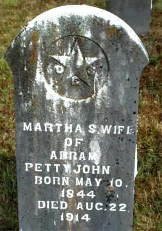 PETTYJOHN, MARTHA  S. - Boone County, Arkansas | MARTHA  S. PETTYJOHN - Arkansas Gravestone Photos