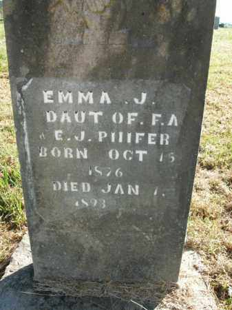 PHIFER, EMMA J. - Boone County, Arkansas | EMMA J. PHIFER - Arkansas Gravestone Photos
