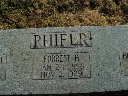 PHIFER, FORREST A. - Boone County, Arkansas | FORREST A. PHIFER - Arkansas Gravestone Photos