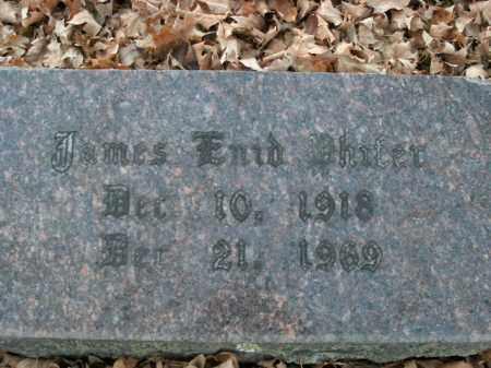 PHIFER, JAMES ENID - Boone County, Arkansas | JAMES ENID PHIFER - Arkansas Gravestone Photos