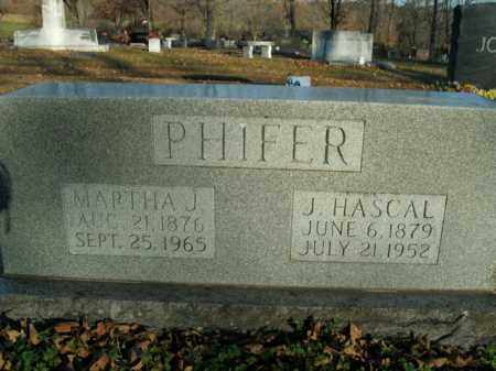 PHIFER, JOSEPH HASCAL - Boone County, Arkansas | JOSEPH HASCAL PHIFER - Arkansas Gravestone Photos