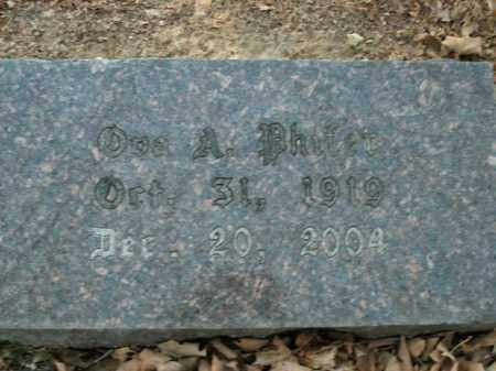 PHIFER, OVA A. - Boone County, Arkansas | OVA A. PHIFER - Arkansas Gravestone Photos