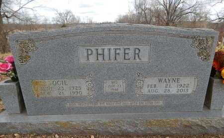 PHIFER, OCIE - Boone County, Arkansas | OCIE PHIFER - Arkansas Gravestone Photos