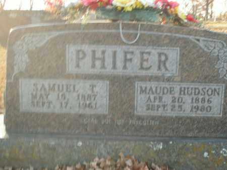 HUDSON PHIFER, MAUDE - Boone County, Arkansas | MAUDE HUDSON PHIFER - Arkansas Gravestone Photos