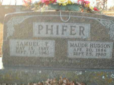 PHIFER, SAMUEL T. - Boone County, Arkansas | SAMUEL T. PHIFER - Arkansas Gravestone Photos