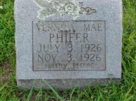 PHIFER, VERNITA MAE - Boone County, Arkansas | VERNITA MAE PHIFER - Arkansas Gravestone Photos