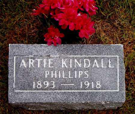 PHILLIPS, ARTIE - Boone County, Arkansas | ARTIE PHILLIPS - Arkansas Gravestone Photos
